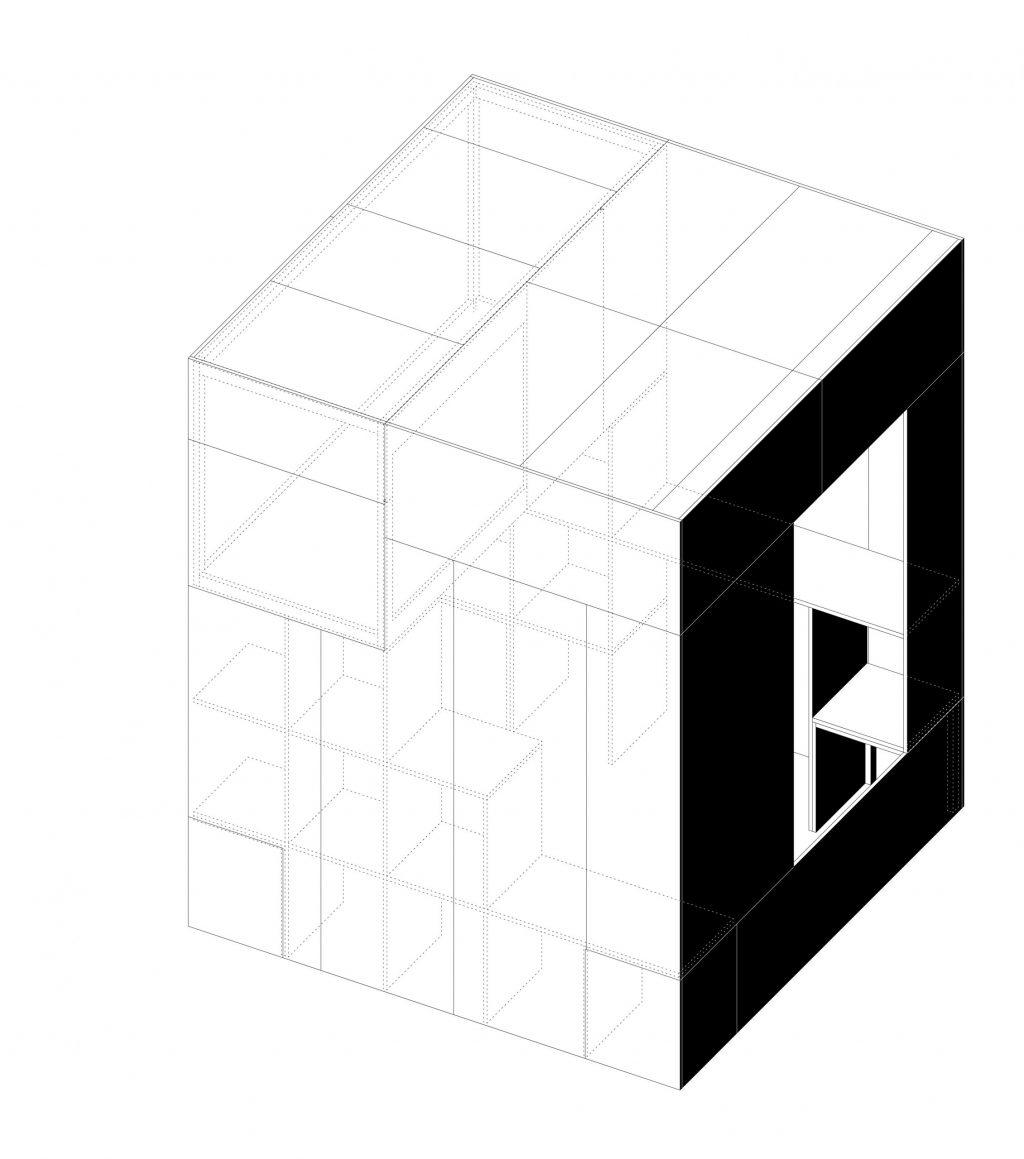 BARAKI_GARAGES_axo bifanas_axo cube